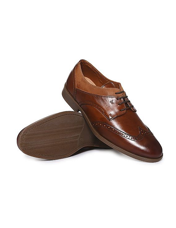 Get Upto 50% Off Wing Tip Leather Derby Shoes