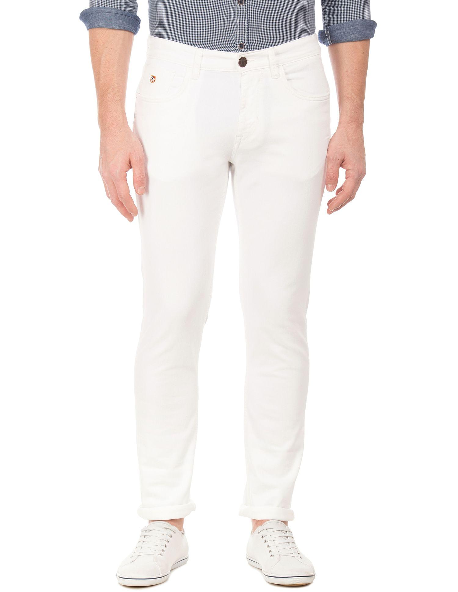 U.S. Polo Assn. Men Casual Wear Solid Jeans