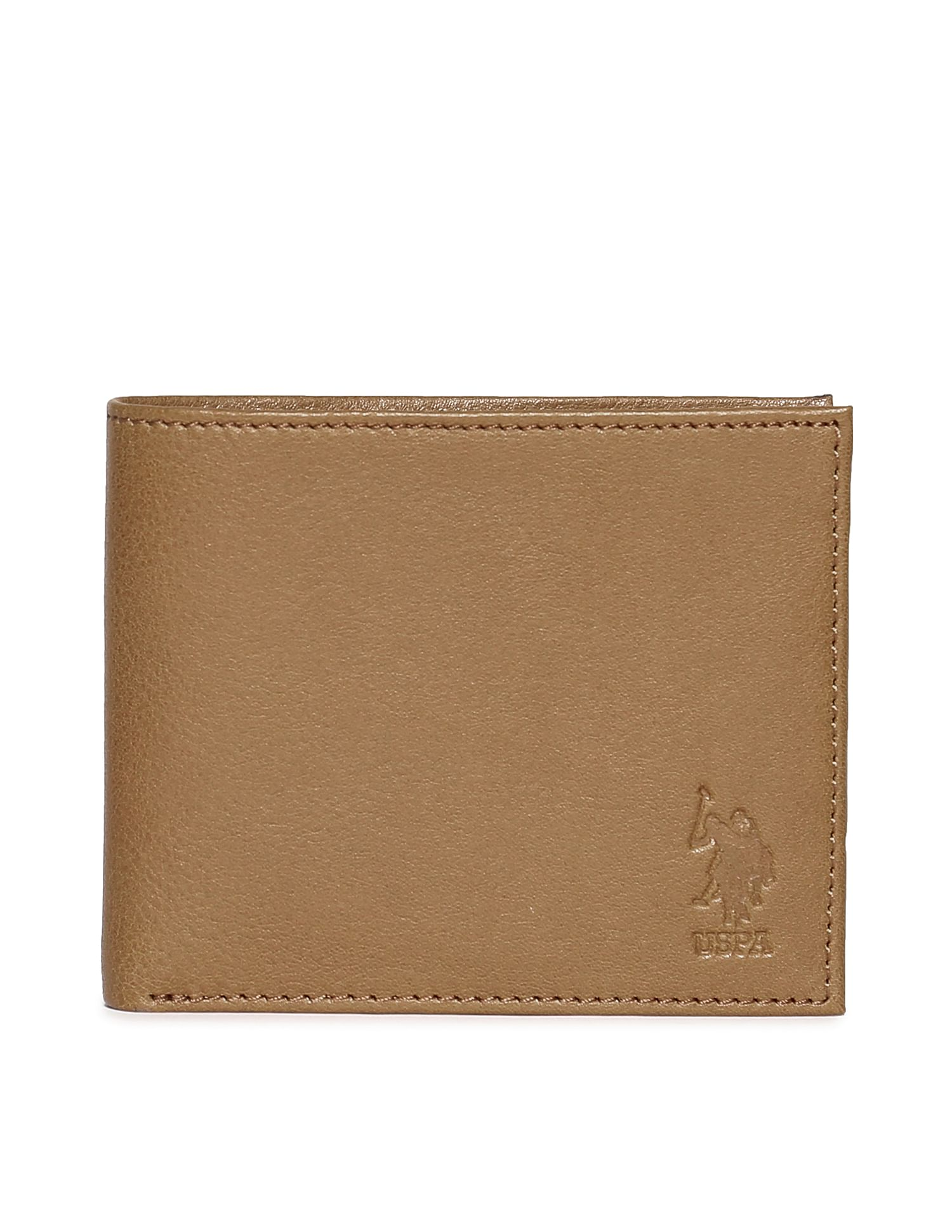 U.S. Polo Assn. Men Casual Wear Solid Wallet