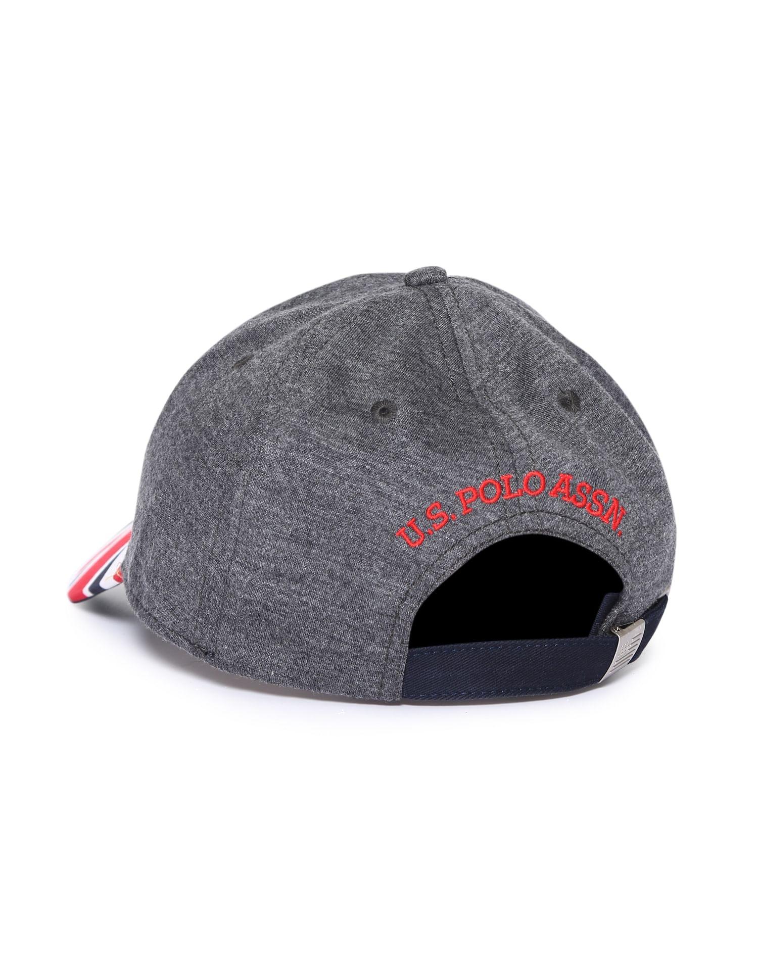 U.S. Polo Assn. Men Casual Wear Solid Cap