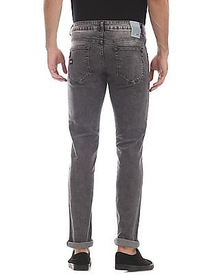 Colt Grey Skinny Fit Low Waist Jeans