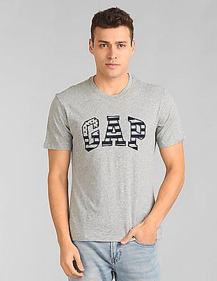 GAP Flag Outline Logo T-Shirt