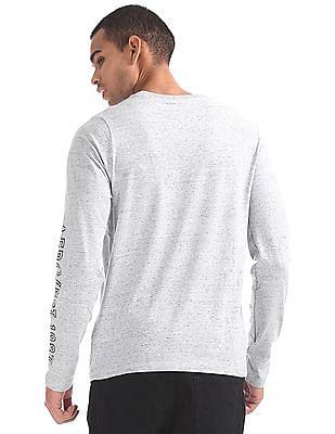 Aeropostale Heathered Long Sleeve T-Shirt