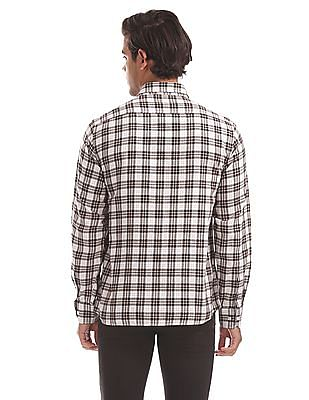 Arrow Sports Slim Fit Checked Shirt