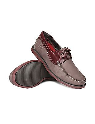 U.S. Polo Assn. Leather Deck Shoes