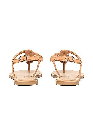 Aeropostale Contrast Ankle Strap Sandals