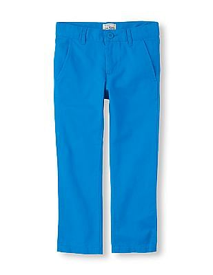 The Children's Place Boys Blue Skinny Chino Pants