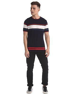 Ed Hardy Slim Fit Striped T-Shirt