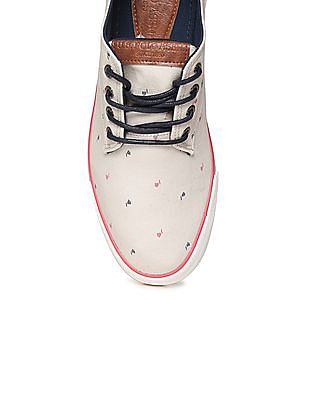 U.S. Polo Assn. Printed Canvas Sneakers