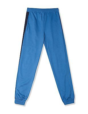Colt Blue Boys Side Panel Knit Joggers