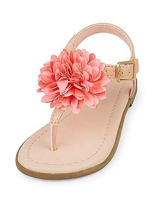 The Children's Place Toddler Girl Flower Zahara Sandal