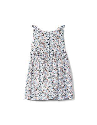 GAP Toddler Girl Floral Bow Dress