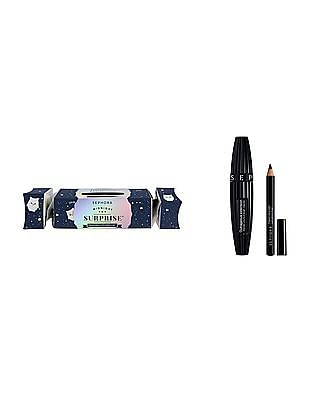 Sephora Collection Midnight Surprise - Mascara And Eye Pencil Set - Limited Edition