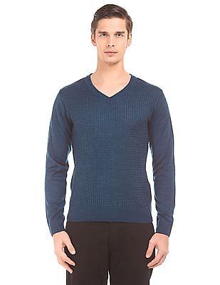 Ruggers Long Sleeve Cable-Knit Sweater