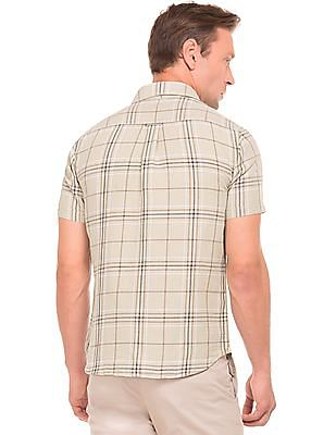 U.S. Polo Assn. Short Sleeve Check Shirt