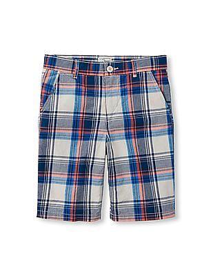 The Children's Place Boys Plaid Shorts