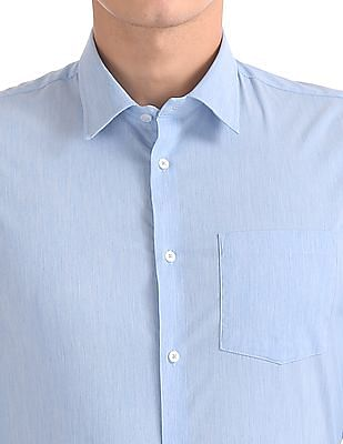 Arrow Newyork Slim Fit Heathered Shirt