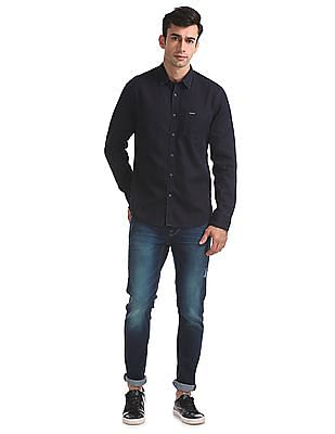 Flying Machine Slim Fit Denim Shirt