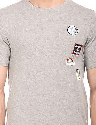 Colt Heathered Appliqued T-Shirt
