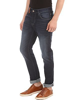 U.S. Polo Assn. Denim Co. Dark Wash Slim Straight Jeans