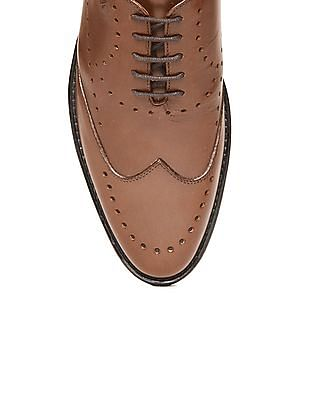 Arrow Grained Wingtip Oxfords