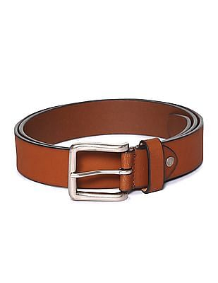 Arrow Burnished Leather Belt