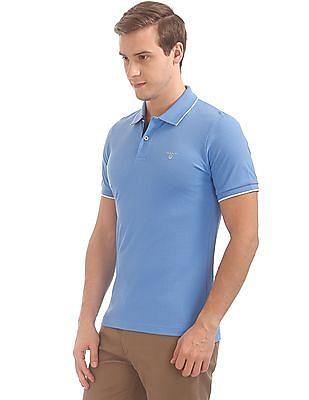 Gant Tech Prep Pique Short Sleeve Rugger Polo