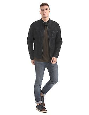 Aeropostale Regular Fit Denim Jacket