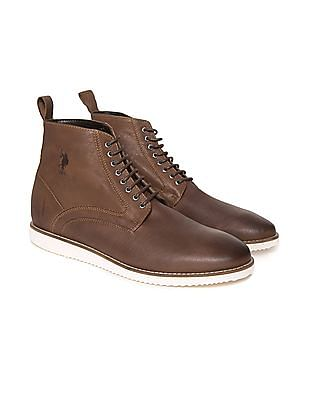 U.S. Polo Assn. Burnished Leather Boots