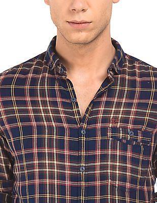 Ed Hardy Button Down Check Shirt