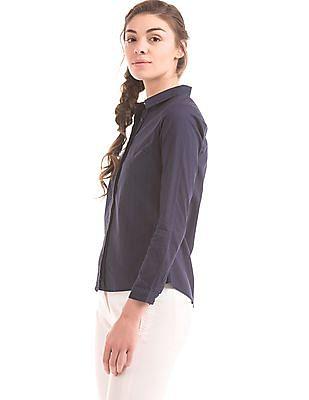 Arrow Woman Floral Pattern Regular Fit Shirt