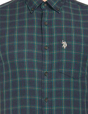 U.S. Polo Assn. Button Down Collar Check Shirt