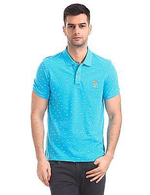 U.S. Polo Assn. Regular Fit Printed Polo Shirt