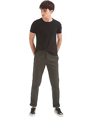 U.S. Polo Assn. Slim Tapered Cotton Stretch Trousers