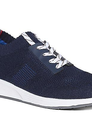 U.S. Polo Assn. Knit Upper Lace Up Sneakers