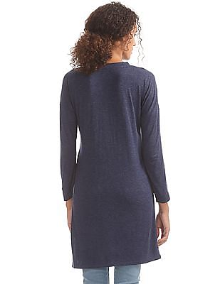 SUGR Heathered Longline Top