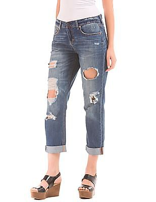 Aeropostale Distressed Boyfriend Jeans