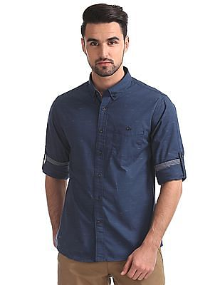 Cherokee Regular Fit Button Down Shirt