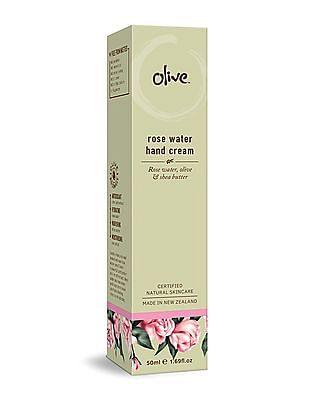 Olive Rose Water Hand Cream