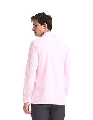 Excalibur Assorted Patch Pocket Mitered Cuff Shirt - Pack Of 2
