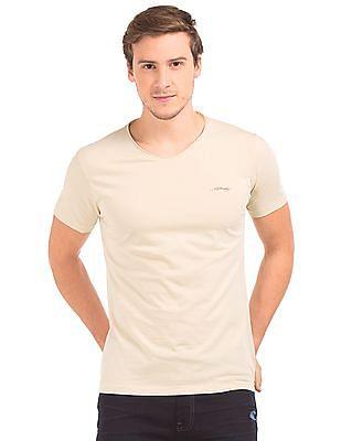 Ed Hardy Raw V-Neck Heathered T-Shirt