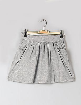 GAP Girls Grey Jersey Skort