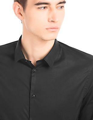 Arrow Newyork Slim Collar Super Slim Fit Shirt
