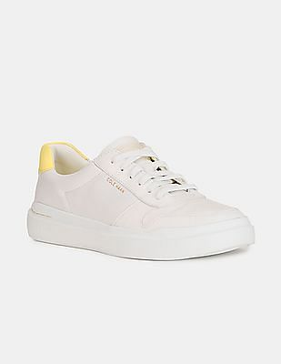 Cole Haan Women White GrandPrø Rally Court Sneakers