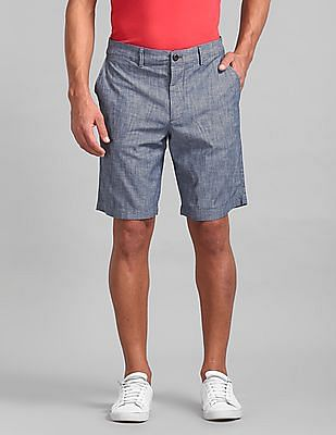 "GAP Vintage 10"" Stretch Chambray Lived In Shorts"