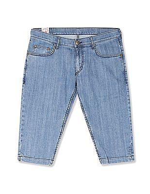 Flying Machine Women Veronica Skinny Fit Capri Jeans