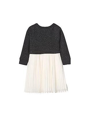 GAP Baby Soft Double Layer Pleat Dress
