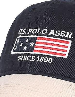 U.S. Polo Assn. Contrast Panel Colour Block Cap