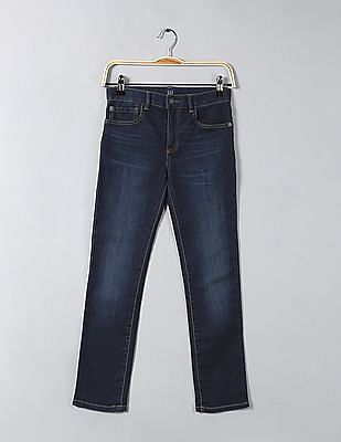 GAP Boys Slim Soft Dark Wash Jeans