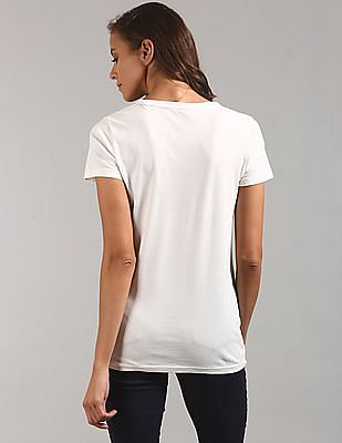 GAP Logo Flag Short Sleeve Crewneck T-Shirt
